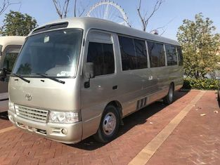 China 2010 Toyota Used Coaster Bus 30 Seats Diesel Engine LHD 71500 Km Mileage supplier