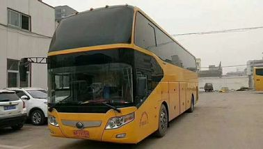 Yutong Second Hand Tourist Bus , Used Luxury Buses  With Wechai Motor 4 Wheels Disc Brake