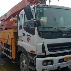 China 6*4 LHD Drive Mode Used Concrete Pump Truck Isuzu-Putzmeister Brand supplier