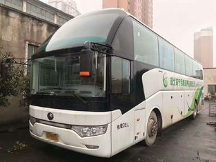 39 Seats Used YUTONG Buses 2013 Year Electronic Door With Toilet Safe Airbag