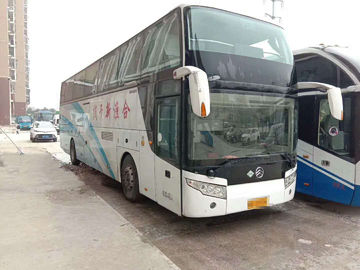 48 Seats Used Motor Coaches , Coach Second Hand Airbag Chassis With Six New Tires