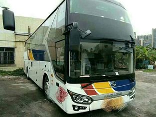 55 Seat Used Coach Bus Excellent Condition With Airbag Wechai 336 Engine