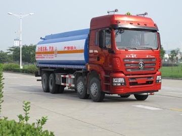 China 27.5m3 Volume Used Oil Tanker EURO IV Emission Standard With WP10.290E40 Engine supplier