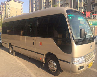 China 100% Original Used Toyota Coaster , Japanese Used Buses With 23 Seats supplier