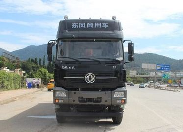 China 8x4 Drive 420HP Euro IV / V Used Work Trucks With Dongfeng Cummins Engine supplier
