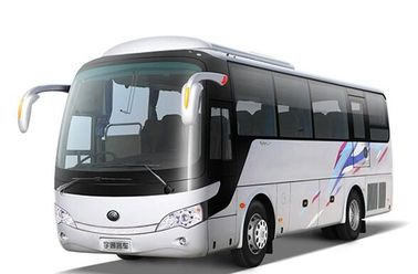 2010 Year 38 Seats AC Used Coach Bus , Tour Used Luxury Buses With 6 Tire