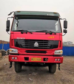 China HOWO Brand 20-30T Used Diesel Trucks / Second Hand Tipper Trucks 375hp 2012 Year supplier