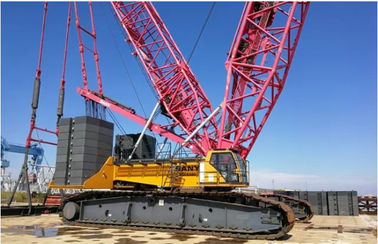 China Sany Used Crawler Crane 75 Tons Capacity / Used Caterpillar Machine Made In China supplier