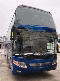 China 2014 Year Used Yutong Buses 61 Seats One Layer And Half With Bright Color supplier