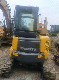 China Komatsu Construction Machines Used Excavator PC55 Strong Digging 4L Displacement supplier