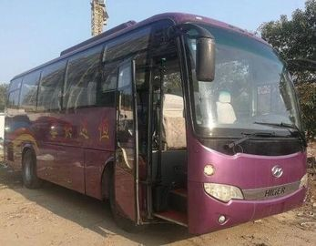 China Diesel AC Higer Used Coach Bus 2011 Year 39 Seats 8.5m Length 8400kg supplier