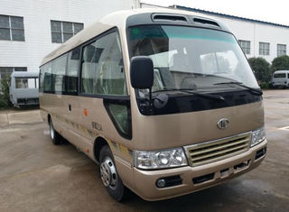 China Brand New Mudan 23 Seats Used Coaster Bus Manual Gear Diesel Engine With AC Right Hand Drive supplier