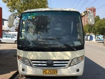 China Euro III Diesel Engine Yutong Mini Bus 2011 Year 23 Seats Used Automatic Gear Box supplier