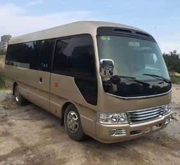 China 2011 Year 26 Seats Toyota Used Coaster Bus LHD / RHDJapan Origin Good Condition supplier