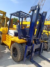 China 5T Capacity Used Komatsu Forklift Powerful Diesel Engien For Special Transport supplier