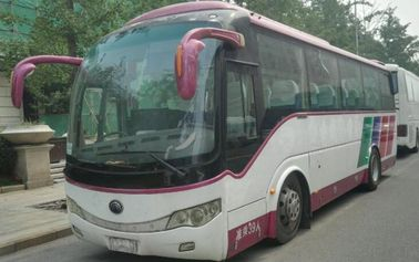China Large 2010 Year Second Hand Buses And Coaches With Airabag / TV New Tyre supplier
