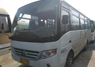 China Euro IV Diesel Engine Used Yutong Buses 26 Seats LHD / RHD 2013 Year supplier