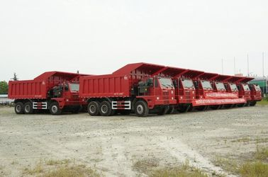 China 371HP Sinotruck Used Dump Truck 50 - 70 Tons Minning Dump Trucks Left Hand Driving supplier