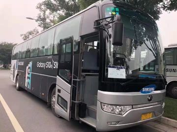 China Diesel Used Yutong Buses 6122 Type 53 Seats 2014 Year YC Engine Left Drive supplier