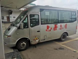 China 2013 Year Used Coaster Bus MT 17 Seats Mini Bus Diesel LHD 2798ml Displacement supplier