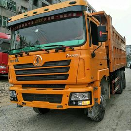 China Shacman F3000 Used Dump Truck 2018 Year 6x4 Tipper Truck 40 Ton Manual Transmission supplier