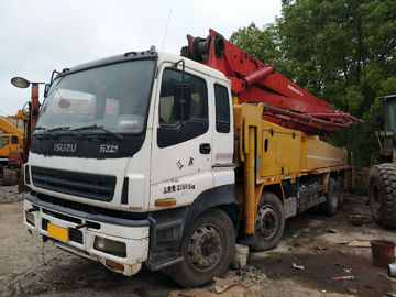 China Folding Boom Second Hand Pump Truck 42m 2008 Years With Good Condition supplier