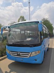 6610mm Length Used Yutong Buses 23 Seats Used Mini Bus With Spare Parts