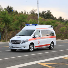 Single Axle Emergence Vehicles 4x2 Ambulance Car With Ergonomic Design(Transport Type)