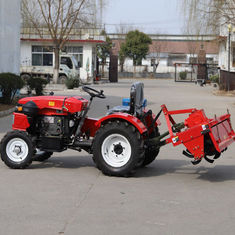 25HP Used Agriculture Machinery Small Farm Tractor With Rotary Tiller And Corn Seeder