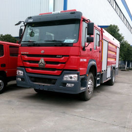 150 - 250HP SPV Special Purpose Vehicle Fire Fighting Vehicles With 10000L Water