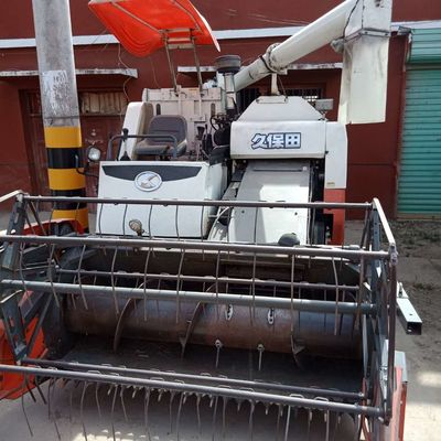 2.43L Diesel Second Hand Kubota Wheat Cutter Machine