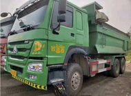 China Euro IV 340HP Motor Used  Dump Truck with 6x4 drive for sale factory