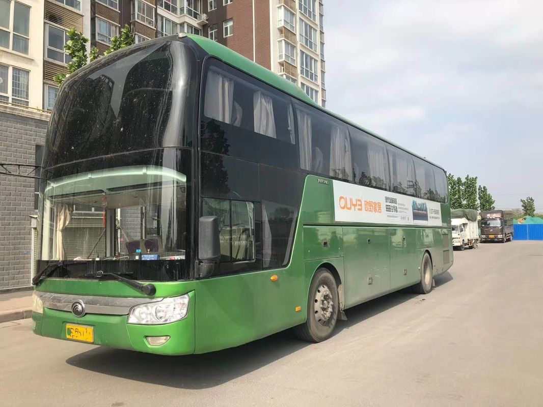 2018 Year 48 Seats 6 Cylinder Used Yutong Buses With Rock