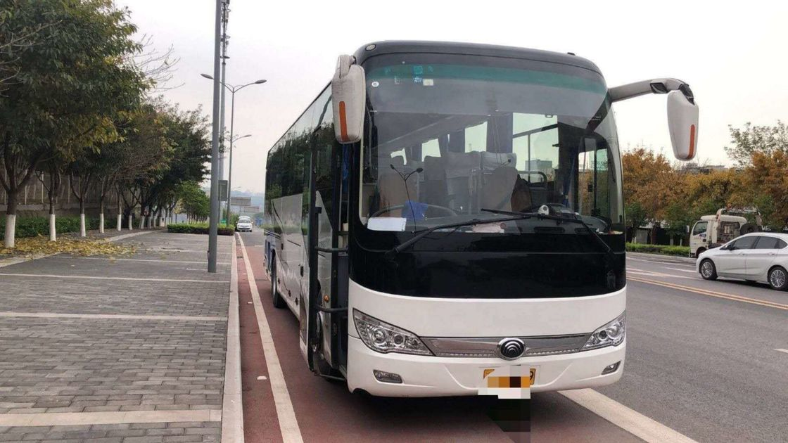 55 Seats YUTONG Old Coach Bus 2011 Year LHD Drive With No