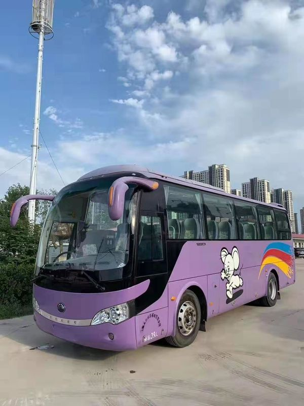 Commercial Used Yutong Buses 37 Seats 2010 Year Used Coach