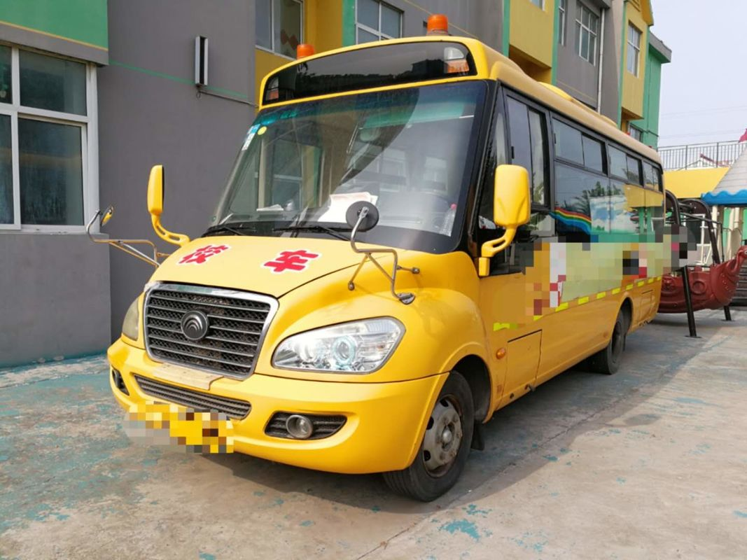 95kw Diesel Engine 2012 Year 36 Seats Used Yutong Bus