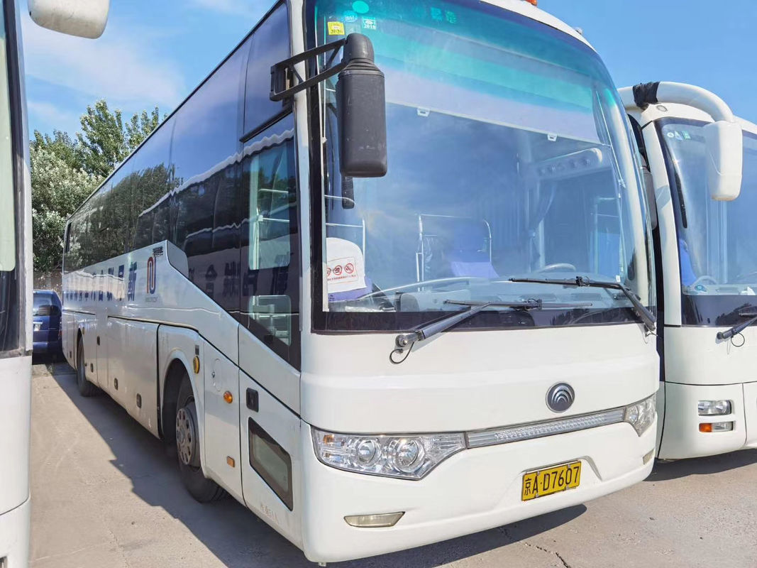 59 Seats Diesel Used Yutong Buses Max Speed 100km/H White