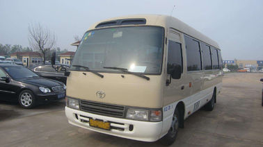 China 20 Passengers Toyota Coaster Second Hand 2013 Year With Strong Engine factory