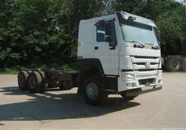 China Sinotruck HOWO Used International Trucks , Used Semi Trailers With 4x2 Diesel Engine factory