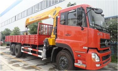China Dongfeng Crain Used Trucks , 6X4 Used Auto Crane 180/2200 Kw Max Power distributor