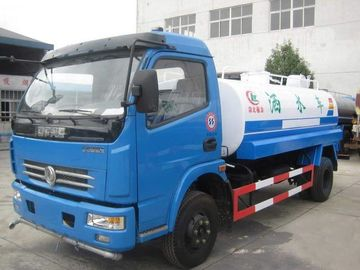 China Dongfeng Used Oil Tanker 7350×2470×2710mm 10000L Tank Capacity With Red Diesel Motor factory
