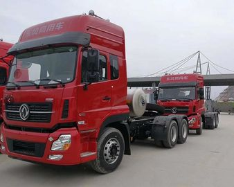 China Dongfeng Used Truck Trailers , Used Tractor Units 7560×2500×3030mm 6×4 Drive Mode factory
