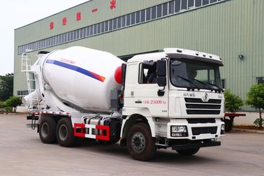 China SHACMAN-HUAYI Second Hand Cement Mixer , Used Cement Mixer Truck 6X4 Drive Form factory