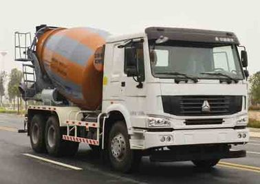 China ZOOMLION-HOWO Used Concrete Mixer Truck Euro III Emission 11005x2496x3900mm factory