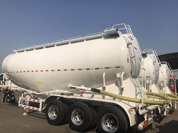China 3 Axle Used Cargo Trailers V Tanker Shape With 40m3 Tanker Capacity factory