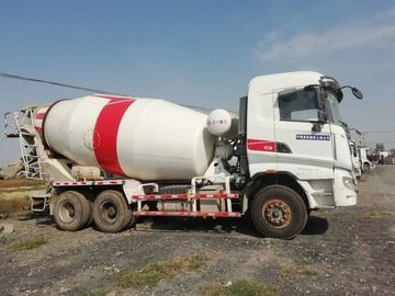 China SANY Used Concrete Mixer Trailer , Used Portable Cement Mixer 6*4 Drive Mode distributor