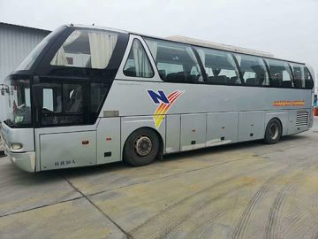 China 2013 Year 50 Seat Used Coach Bus Youngman Brand Double Auto Door With Great Airbag distributor