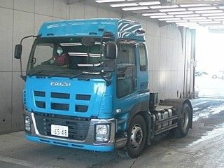China 350hp Engine Power Second Hand ISUZU Trucks Efficient For Constructions factory