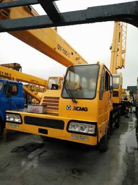 China 16t Lifting Capacity Used Service Trucks With Crane 230hp Power XCMG Brand distributor
