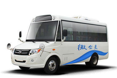 China 10-14 Seat Diesel Used Yellow School Buses JM Brand With Air Conditioner 3200mm Wheelbase factory